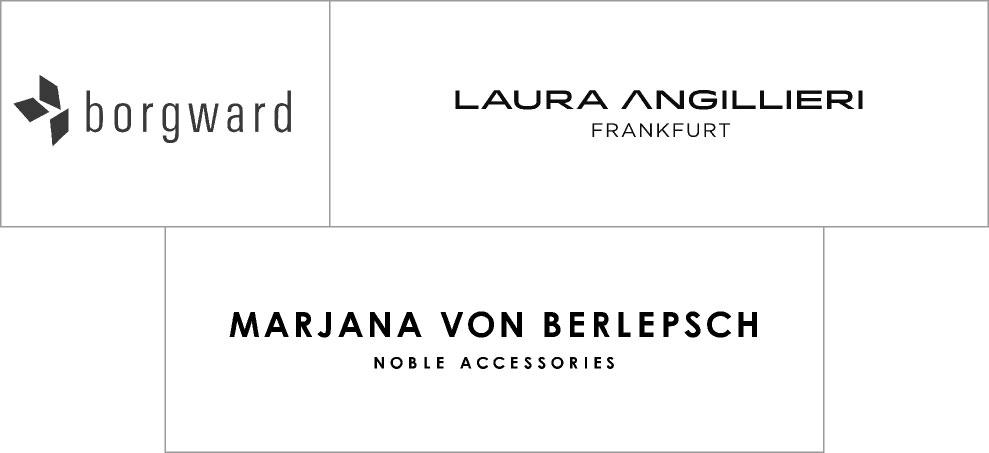 Labels für Accessoires bei Daniel Thiel in Wiesbaden