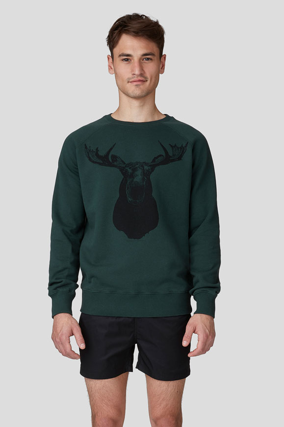 Ron Dorff Sweatshirt Grün